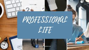 PROFESSIONAL LIFE1
